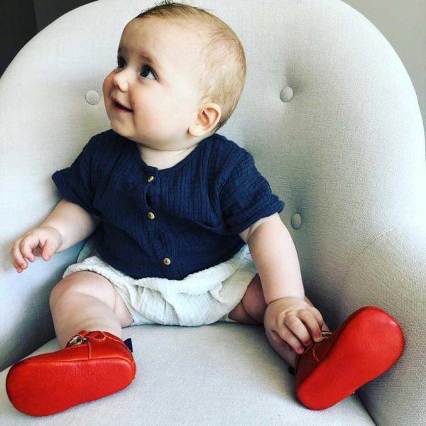 Lazare chaussons bébé modèle Achille
