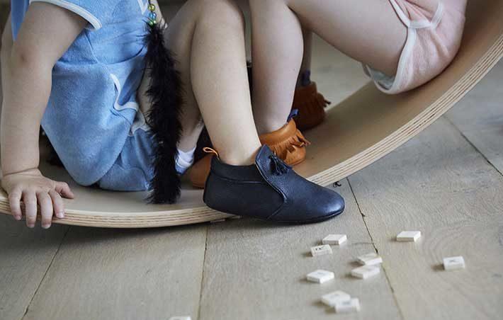 Chaussons enfant pour la marche