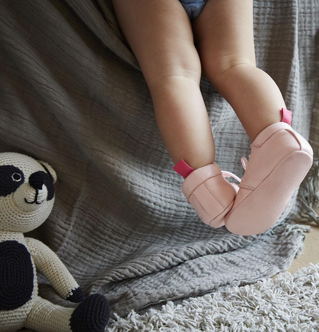 Lazare chaussons enfants en cuir