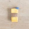 chaussettes coton biologique lazare kids à pois jaune