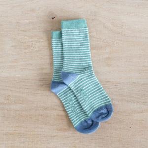 Chaussettes bébés rayées Constance
