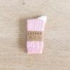chaussettes coton biologique lazare kids à croix rose