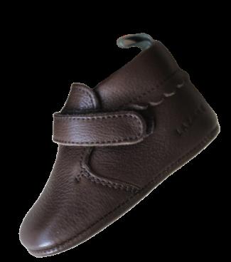 chausson de coté marron chocolat