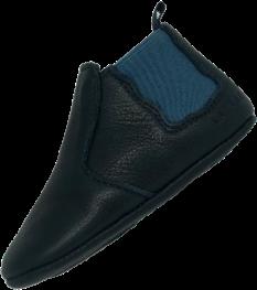 chausson boots bleu marine et bleu
