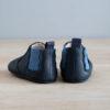 chausson à élastique bleu marine et bleu arrière