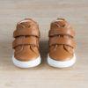 face de chaussures premiers pas à scratchs