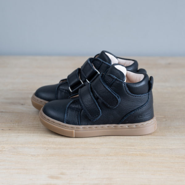 Chaussures premiers pas Hector bleu marine