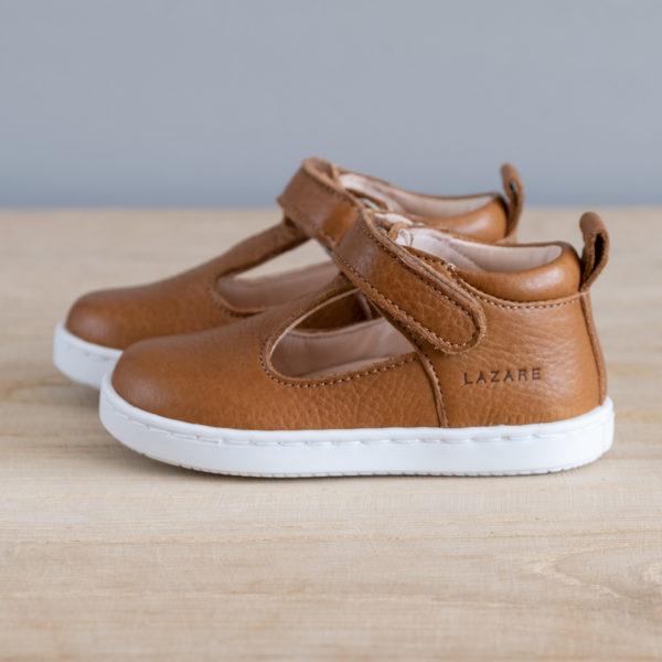 Chaussures premiers pas Hippolyte marron