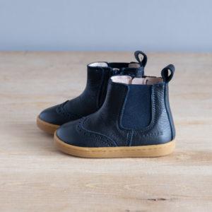 Chaussures premiers pas Axelle bleu marine