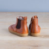 boots-chaussures-premiers-pas-Axelle-calvados-elastique-marron-vu-de-derriere