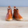boots-chaussures-premiers-pas-Axelle-calvados-elastique-marron-vu-de-face