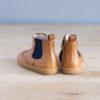 boots-chaussures-premiers-pas-Axelle-marron-elastique-bleu-vu-arriere