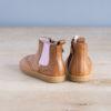 boots-chaussures-premiers-pas-Axelle-marron-elastique-rose-vu-arriere