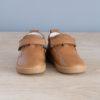 chaussures-premiers-pas-Jules-cuir-marron-vu-face