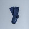 chaussette-Lazare-en-coton-bio-couleur-bleu-marine