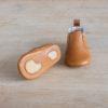 chaussons-premiers-pas-en-cuir-souple-Oscar-couleur-marron-argent-avec-semelle-caoutchouc