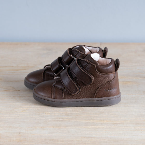 Chaussures premiers pas Hector chocolat