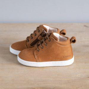 Chaussures premiers pas Aristide caramel nubuck