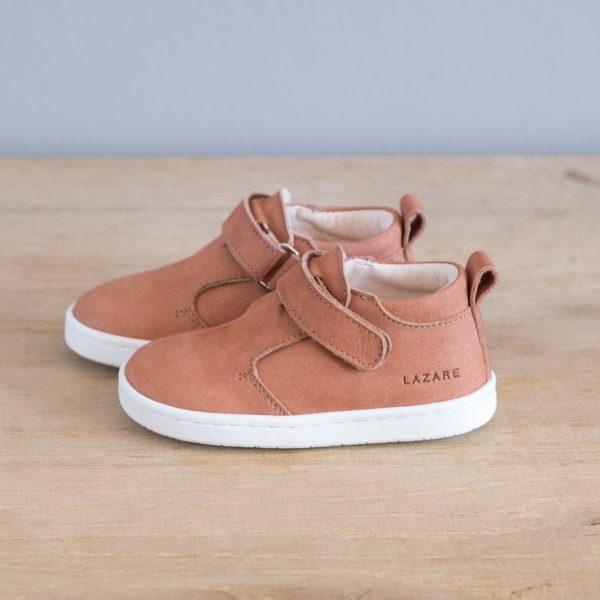 Chaussures premiers pas Jules blush nubuck