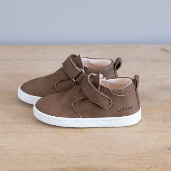Chaussures premiers pas Jules taupe nubuck