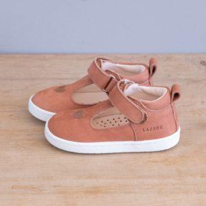 Chaussures premiers pas Pia blush nubuck