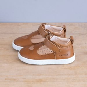 Chaussures premiers pas Pia marron